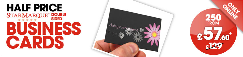 Business card printing in eccles high quality low cost for Average cost of business cards